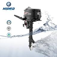 Outboard Motor HIDEA 4 Stroke 6hp Boat Engine