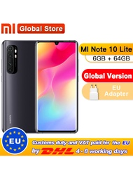 In Stock Global Version Xiaomi Mi Note 10 Lite 6GB 64GB Snapdragon 730G Octa Coreสมาร์ทโฟน5260MAh 64MP Quadกล้อง
