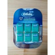 ★胭脂小舖★Costco 好市多 代購 Glide Oral-B 歐樂b 清潔舒適 牙線 6入 薄荷口味