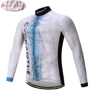 Winter Thermal Fleece Cycling Jersey Warm Tops Jacket MTB Bicycle Clothing Bike Clothing Maillot Clothes MTB Racing