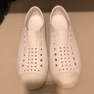 Native 全白男鞋