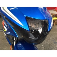 【LFM】GSX150 R 專用 燻黑大燈護片 地下工房 可拆式 大燈護罩 適用: 小阿魯 R版專用 GSX-R150