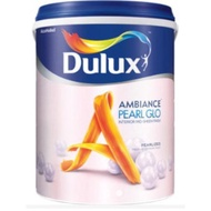 ICI DULUX PEARL GLO INTERIOR PAINT #WHITE 18 LITER