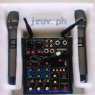 YAMAHA G4 MIXER Bluetooth With High Quality Wireless Microphone