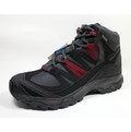 [陽光樂活=] SALOMON SHINDO MID GTX 男款 GORETEX 中筒登山鞋 L3996700 灰/黑/紅 新品