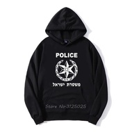 New Hoodies Israel Police Hoodie Men Sweatshirt Hoody Streetwear Anime Hoodies