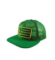John Deere Scheitholt Implement Co USA Vintage Trucker Cap Full Mesh Green Big Patch