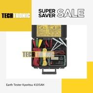 Grounding Digital Tester Kyoritsu 4105ah Earth Tester - Techtronic