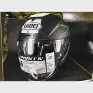 二手美品 SHOEI J-FORCE4 MODERNO TC-5 安全帽 頂級半罩 消光黑白