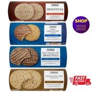 TESCO Lotus's DIGESTIVES BISCUIT: Digestives / Chocolate Oaties / Chocolate Digestives / Chocolate Chips Digestives