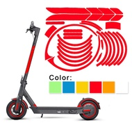 Reflective Sticker 1set Reflective Sticker DIY Electric Scooter Durable