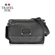 【TRAVEL FOX 旅狐】都會質感側背包 斜背(TB597-01 黑色)