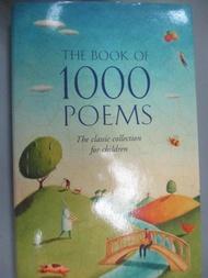 【書寶二手書T9/原文書_G7X】The Book of 1000 Poems_Collins Staff, J. Murray MacBain