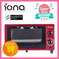 Iona GL103 Oven Toaster 10L - 1 Year Warranty