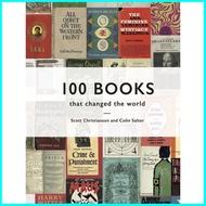 คุ้มที่สุด ดีที่สุด Asia Books หนังสือภาษาอังกฤษ 100 BOOKS THAT CHANGED THE WORLD
