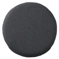 [MUJI 無印良品] 聚氨酯發泡材坐墊圓型/混墨灰色/8A