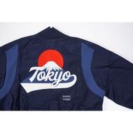 胖達)ADIDAS VRCT TOKYO 東京 富士山 運動 外套 FI4030 深藍 男
