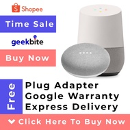 Cheapest GeekBite Google Home OR Nest Mini Home Mini + Free Plug