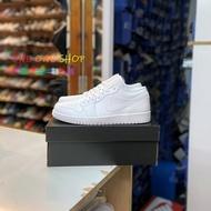 NIKE AIR JORDAN 1 LOW AJ AJ1 喬丹 1代 白色 全白 低筒 籃球鞋 553558-130