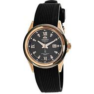 Orient Women's FNR1V001B Black Rubber Automatic Fashion Watch