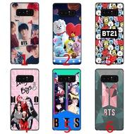 BTS BT21 Bangtan Boys soft phone case Samsung S6 S7 Edge S8 S9 Plus Shockproof TPU Cover