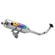 【OM銧榮】YAMAHA BWS'R 125 01C白鐵回壓排氣管/05C白鐵直通排氣管/加速管