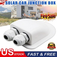 Roof Gland 2Cable Entry for Solar Satellite Aerial Aircon Motorhome Caravan Boat