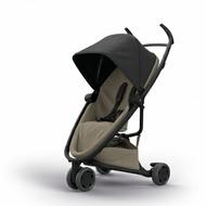 Quinny Zapp X FLEX 嬰兒手推車(三輪/獨立把手)-標準版(黑篷棕布)贈提籃+雨罩★愛兒麗婦幼用品★