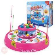 【瑪琍歐玩具】電動釣魚盤 桌遊遊戲兒童玩具/M9068