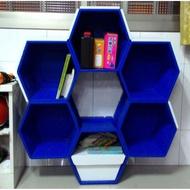 (二手)蜂神高級組合櫃/書櫃/收納櫃/玩具櫃