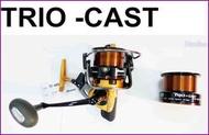 OKUMA Trio-Cast TC-6000 雙線杯 捲線器~豪福釣具小舖~[Haofoo]