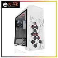 Computer Case Gaming AZZA Storm 6000 WhiteFull Tower Tempered Glass RGB
