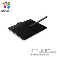 【Wacom】Intuos Comic 動漫創意觸控繪圖板-經典黑/小(CTH-490/K1-CX)