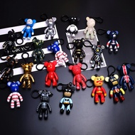 Bearbrick Key Chain (Popobe) Various Personality Models, Coat Badge (Ready Stock)