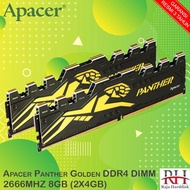Apacer Panther Golden Ddr4 Dimm 2666mhz 8gb (2x4gb)