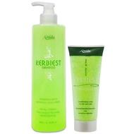 【Amida 蜜拉】葉綠素洗髮精500ml+葉綠素頭皮髮調理素200ml(葉綠素洗護組)