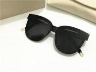 New Gentle man or Women Monster eyeware V brand IN SCARLET sunglasses for Gentle monster sunglasses -black frame black lens - intl
