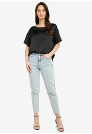 Banana Republic Relaxed Boat Neck Top