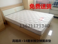 Special wooden bed 1.5 m 1.8 m beds hard sheets 1.1-meter. 2 m storage bed Simmons bed