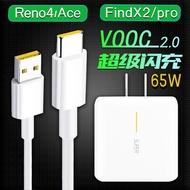 For Oppo Charger 65w Set Original Super Flash Reno4se Plug Findx2proace