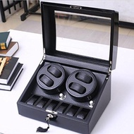 (L-life) Automatic Watch Winder Automatic Watch Winder 4 Watch Winder Leather Watch Display Box C...