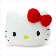asdfkitty可愛家☆KITTY大臉造型大抱枕/靠枕/靠墊/絨毛玩偶-日本正版商品