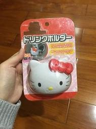 正版Hello Kitty汽車冷氣風口杯架
