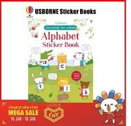 Usborne Alphabet sticker books