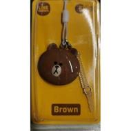 line brown ezlink charm