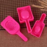 越玩爍潮汕紅桃粿果印果模年龜粿印古早美食糕點模具塑料紅鼠殼。