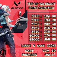 TOP UP VALORANT POINTS 7000 - 14000 CHEAPEST TOPUP VALORANT POINT (3)