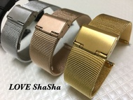 ♥現貨♥ 米動 Amazfit 米動手錶 青春版 米蘭尼斯 金屬錶帶 黑色 金色 銀色 玫瑰金 ~買錶帶 送米動保護貼~