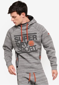 Superdry GYM TECH STRETCH GRAPHIC OVERH