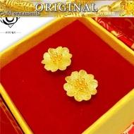Tulen Yang Sangat Baik Subang Emas 916 (Cinta Anting-Anting) Panas Menjual-259